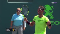 2017 Miami SF Rafael Nadal vs. Fabio Fognini / Highlights