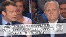 Grand débat présidentiel: Asselineau à Macron, «vous êtes toujours d'accord avec tout le monde»