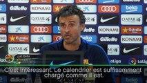 Barça - Enrique évoque la suspension de Messi