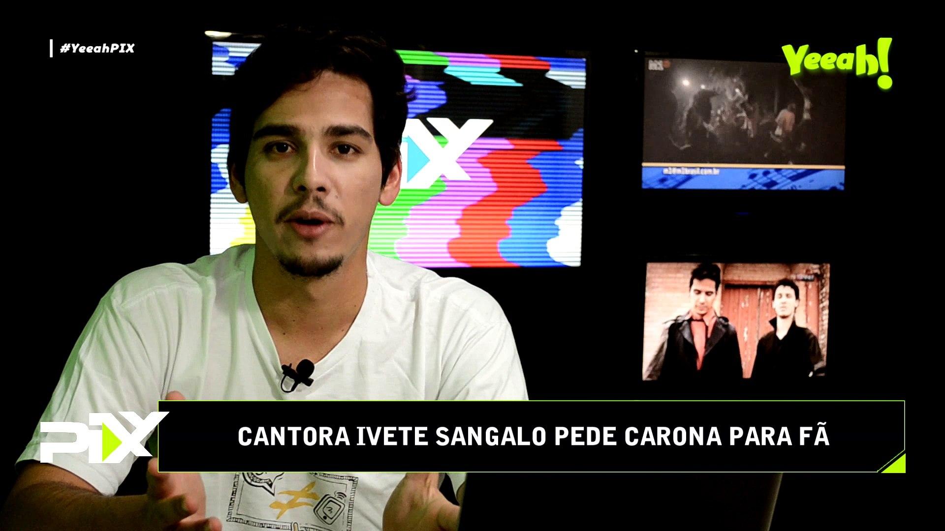#YeeahPIX - Ivete Sangalo pede carona para fã