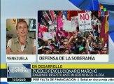 Venezuela: pueblo revolucionario, decidido a defender su Revolución