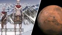 Refugiados marcianos se establecieron en la Antártida hace más de un millón de años
