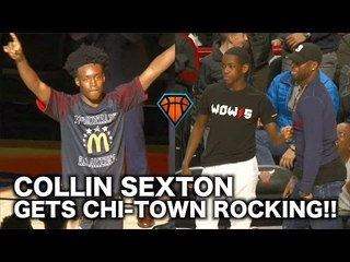 Collin Sexton Had Dwyane Wade & Chicago Going CRAZY During the McDonald's All-American Game!!