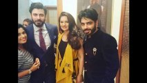 Fawad Khan and his Wife Sadaf at Dubai the Exhibition of Silk by Fawad