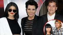 Kris Jenner Wants Kylie Jenner and Rob Kardashian Away From Tyga & Blac Chyna