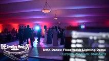 The Creative Music DJ - San Diego Hilton Resort and Spa Weddings - Tent wedding with DMX Dance Floor Lighting