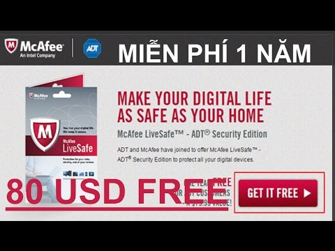 McAfee antivirus software Free $ 80 USD – LHB online