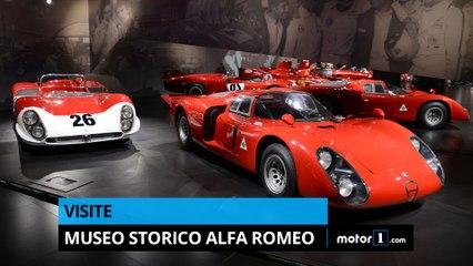 Visite du Museo Storico Alfa Romeo !