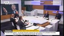 """Chatel justifie les contradictions de Fillon """"dans une campagne aussi longue"""""""