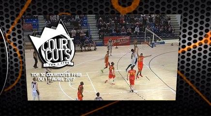 Top 10 CourtCuts FFBB du 1er Avril 2017
