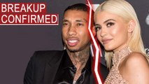 Kylie Jenner & Tyga BREAKUP CONFIRMED