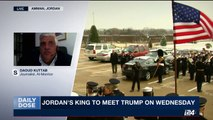 DAILY DOSE | Jordan's King to meet Trump on Wednesday | Wednesday, April 5th 2017