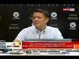 Sen. Santiago, kinontra ang pahayag ni Sec. Abad na wala nang pork barrel sa 2015 budget