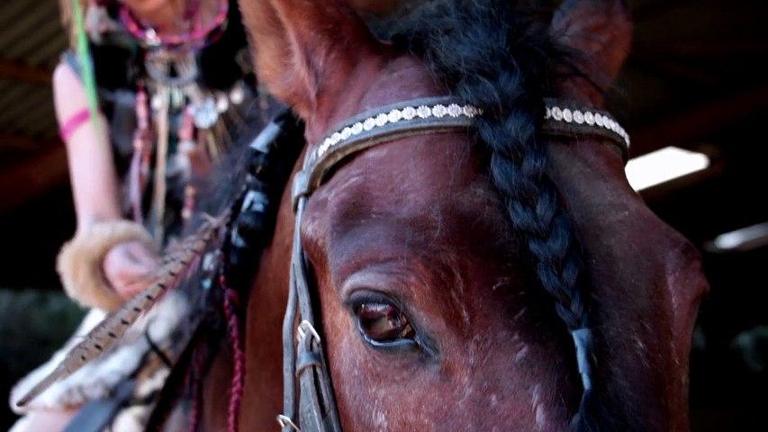 Daily Rebelle N° 8 Jeanne Delajungle - cascadeuse equestre