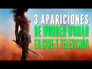 3 apariciones de Wonder Woman en cine y televisión