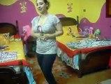 arabic beautiful girls dance in home can you copy her dance
