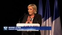 """Le Pen tacle Fillon: """"Il nous refait les mêmes promesses qu'avant son arrivée à Matignon"""""""