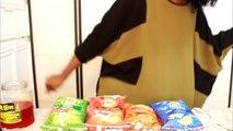 MINI MUKBANG - LAYS NEW PASSPORT TO FLAVOR CHIPS REVIEW! YUMMYBITESTV-r