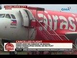 24 Oras: Eroplano ng AirAsia sa Bohol, hindi nakalipad dahil sa na-flat na gulong