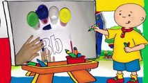 Caillou Playing Play Doh - Play Doh alphabet4545646
