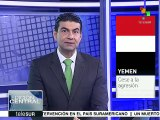 Arabia Saudita intensifica ataques contra población yemení