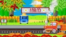 Trenes infantiles - Dibujos animados educativos - Caricaturas de trenes - Carritos Para Niños