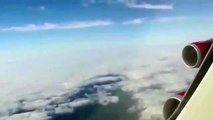 April 2015: Airplane passenger films 'UFO' from flight over Liverpool UK - UFO Ovni Ovnis http://BestDramaTv.Net