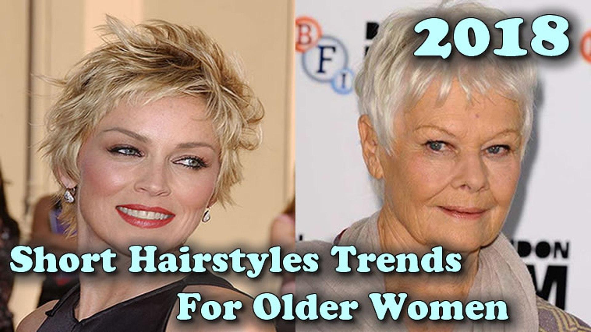 Short Hairstyles Trends For Older Women 2018