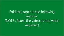 How to make origami paper boat (2D) - 2 _ Origami _ Paper Folding Craft Videos & Tutorials.-OgWjW7I-