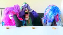 Spiderman vs Frozen Elsa vs Joker Squad! Oreo Challenge! - Funny Superheroes-X0nJkhuxR