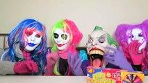Spiderman vs Frozen Elsa vs Joker Squad! Jelly Bean Boozled! - Funny Superheroes-h