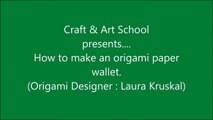 How to make origami paper wallet _ Origami _ Paper Folding Craft Videos & Tutorials.-iUn_Vr-