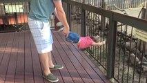 Cette fillette ne veut pas partir du Zoo... Tellement drôle!