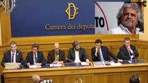 Collegamento telefonico Beppe Grillo - Conferenza stampa programma m5s Energia - MoVimento 5 Stelle