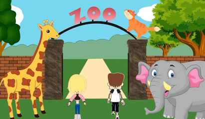 Zoo Journey With Animals | For Kids & Toddlers | Fun Learning Videos | Catrack Kids