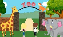 Zoo Journey With Animals   For Kids & Toddlers   Fun Learning Videos   Catrack Kids