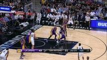 Los Angeles Lakers @ San Antonio Spurs - April 5, 2017 - Recap