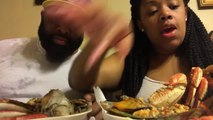 Dungeoness crabs Mukbang-Eh