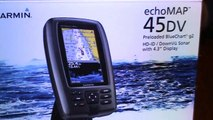 In  with Garmin 45DV out with Lowrance elite 4 DSI-U7