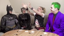 Batman, Joker - SUPERHERO MOVIE CHALLENGE! Harley Quinn, Catwoman-qultcxTv