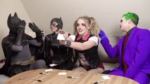 Batman, Joker - SUPERHERO MOVIE CHALLENGE! Harley Quinn, Catwoman-qultcxT