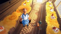 Funny 3D Animation Short Film For Kids - Fat Animated Short Film