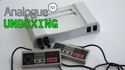 Analogue NT (NES/Famicom) Unboxing - MadFinnTech
