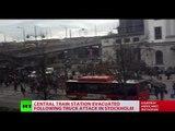 Stockholm truck attack: 4 dead, 15 injured, 1 person arrested - Swedish police