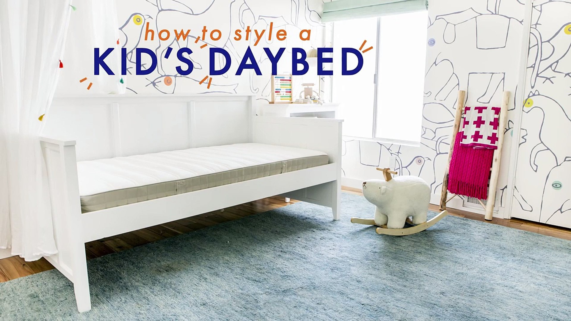 How To Style A Kid's Daybed-7u