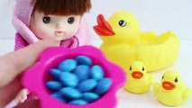 Baby Doll Bath Time Learn Colors Nursery Rhymes Finger Song DIY Orbeez Icecream-Ba7zCp9XS