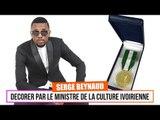 Serge Beyanud Décoré par le ministère de la culture ivoirienne