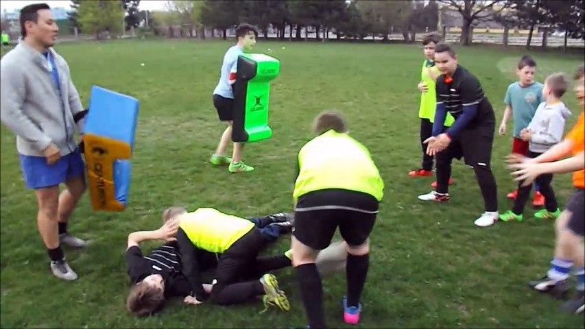 Rugby Klub Bratislava training 5th April 2017 deti children rugby skola