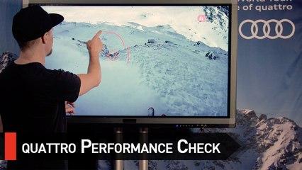 quattro Performance Check with Reine Barkered - Swatch Xtreme Verbier FWT17