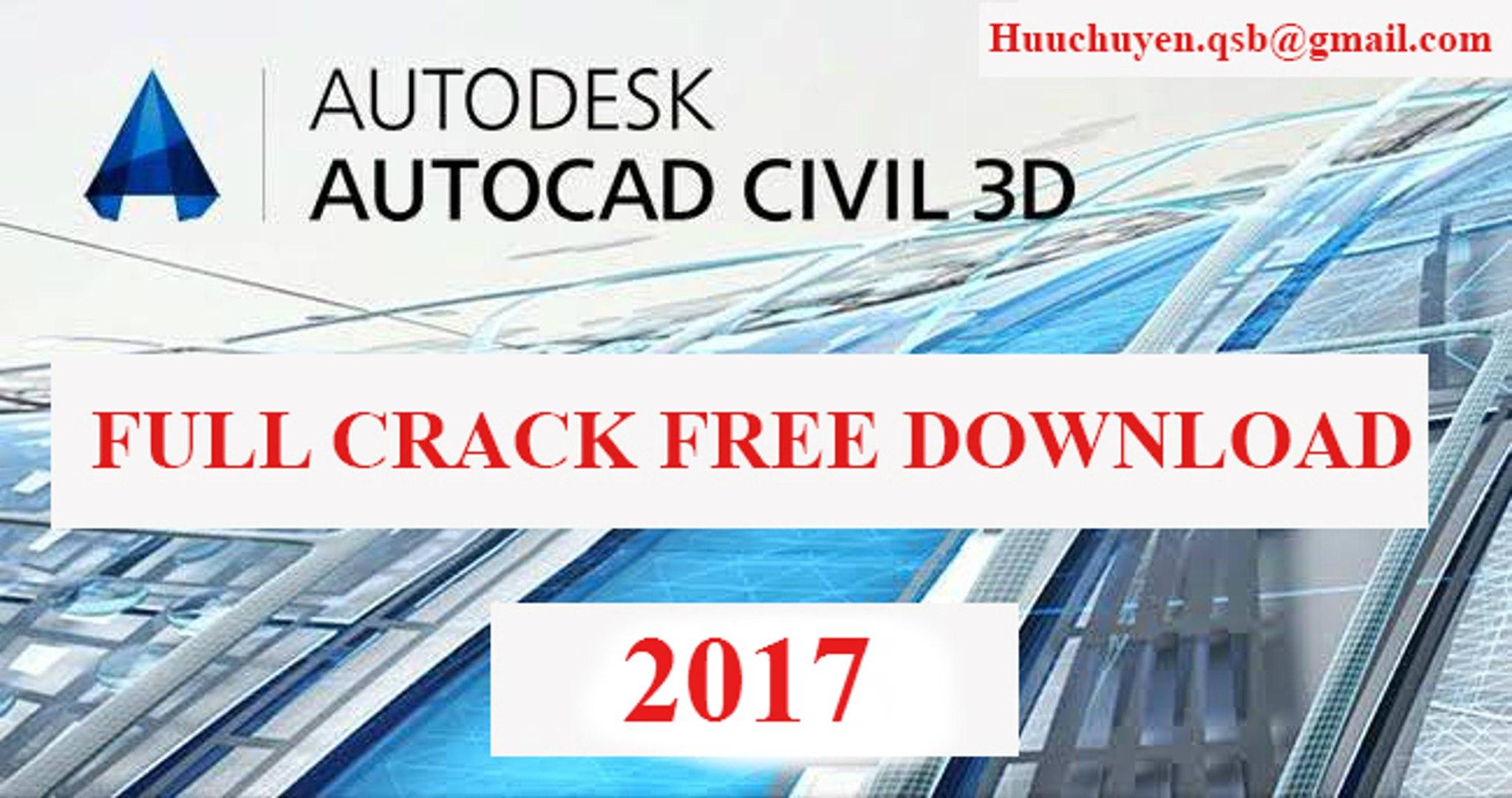 Tutorial Setup And Crack Civil 3d 2017 Full Link Download